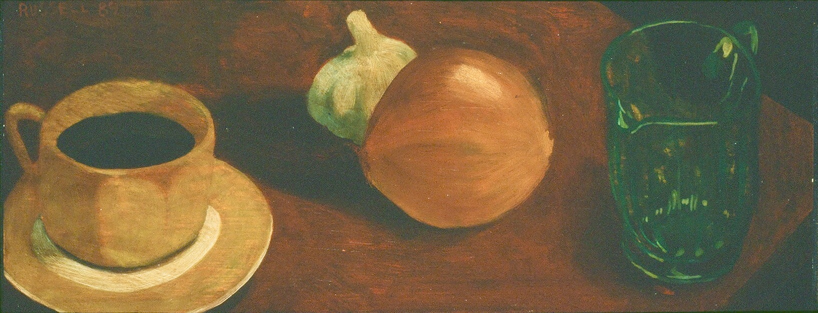 Untitled 1989 17X46 cm. Oil on wood.