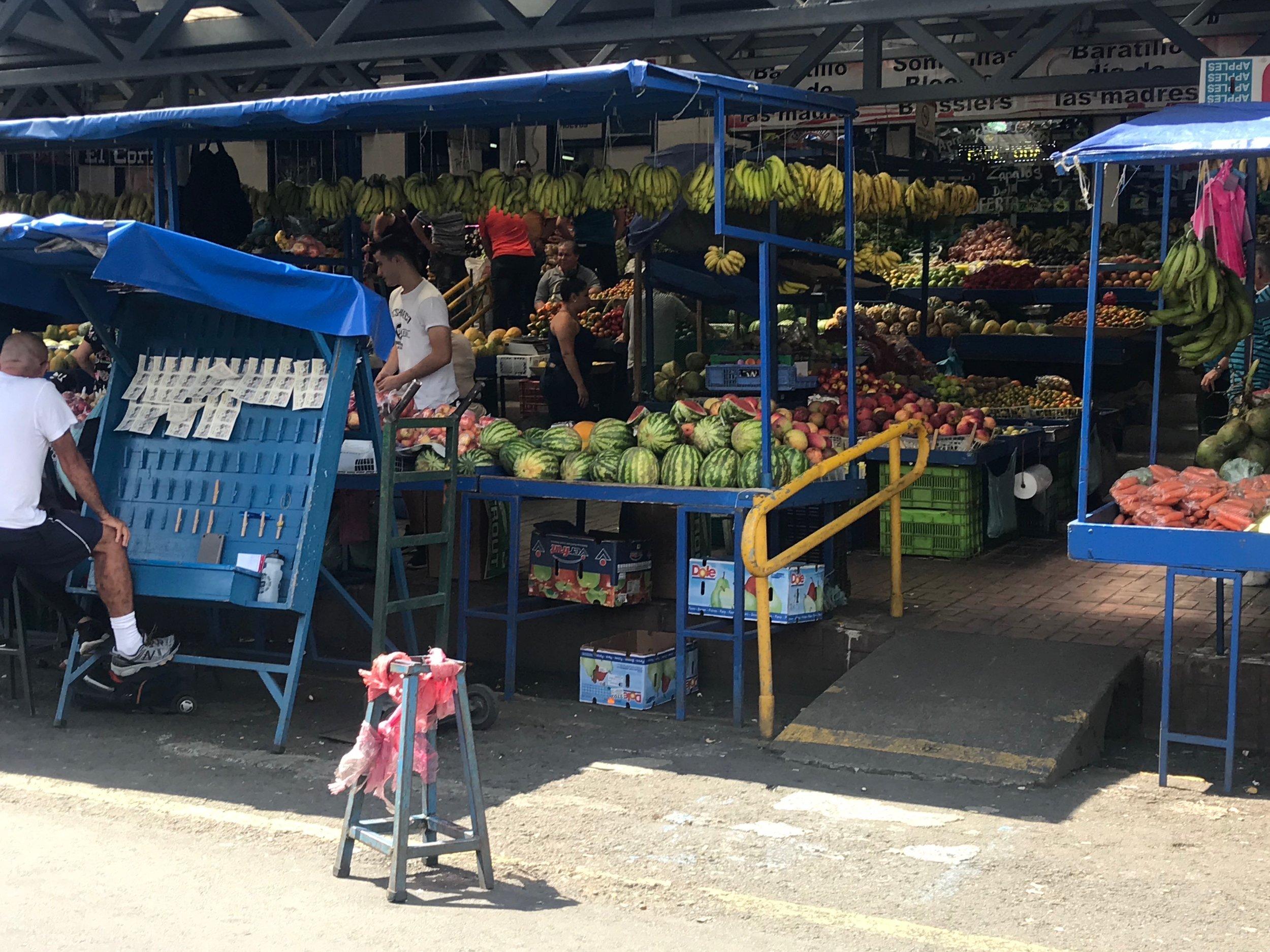 A market in Cartago
