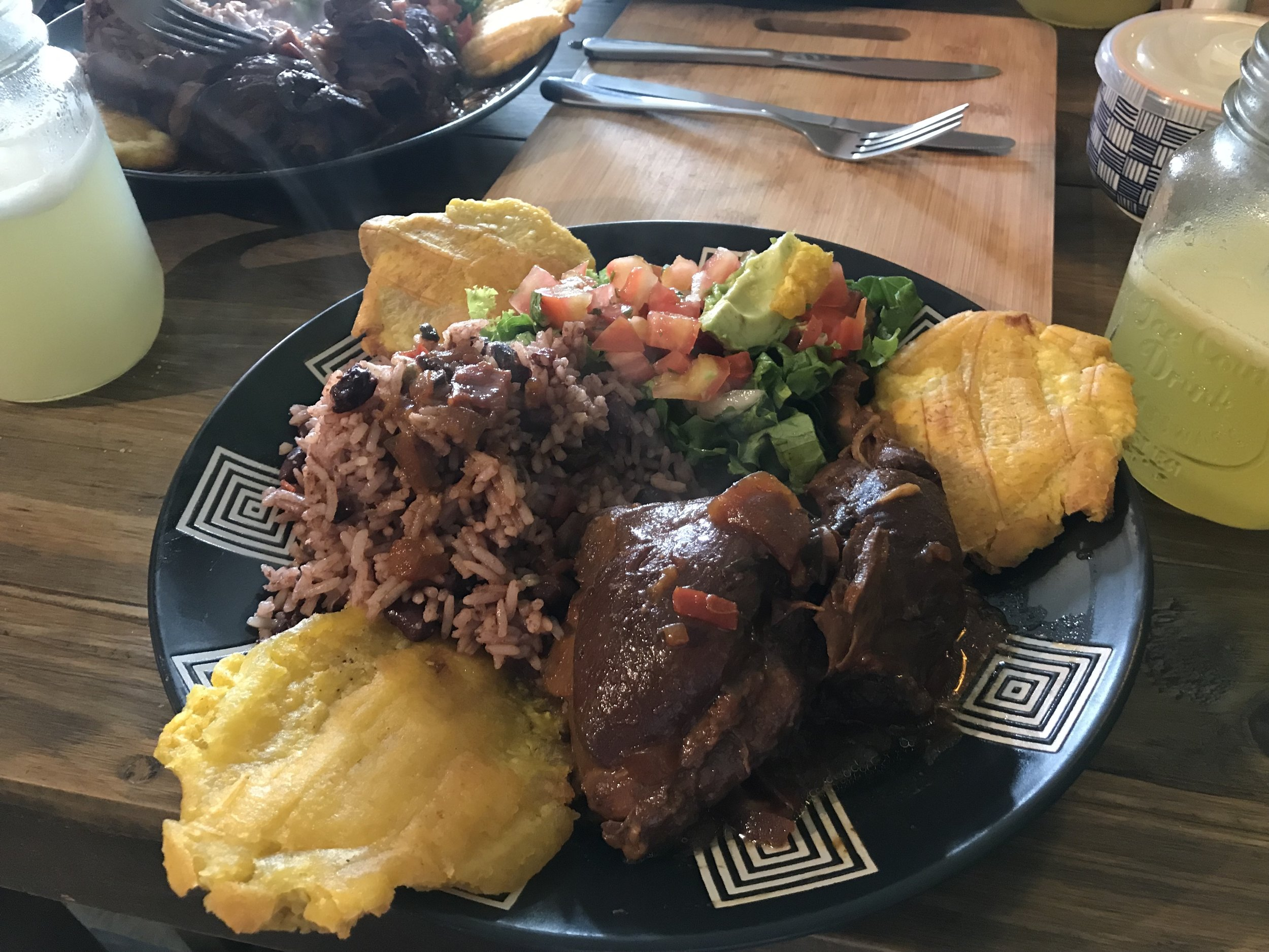 I considered Costa Rican cooking very similar to Italian cooking in that it is peasant food that uses fresh ingredients, simply cooked. Also, don't compare it to Mexican food. Costa Rican food is not spicy at all.