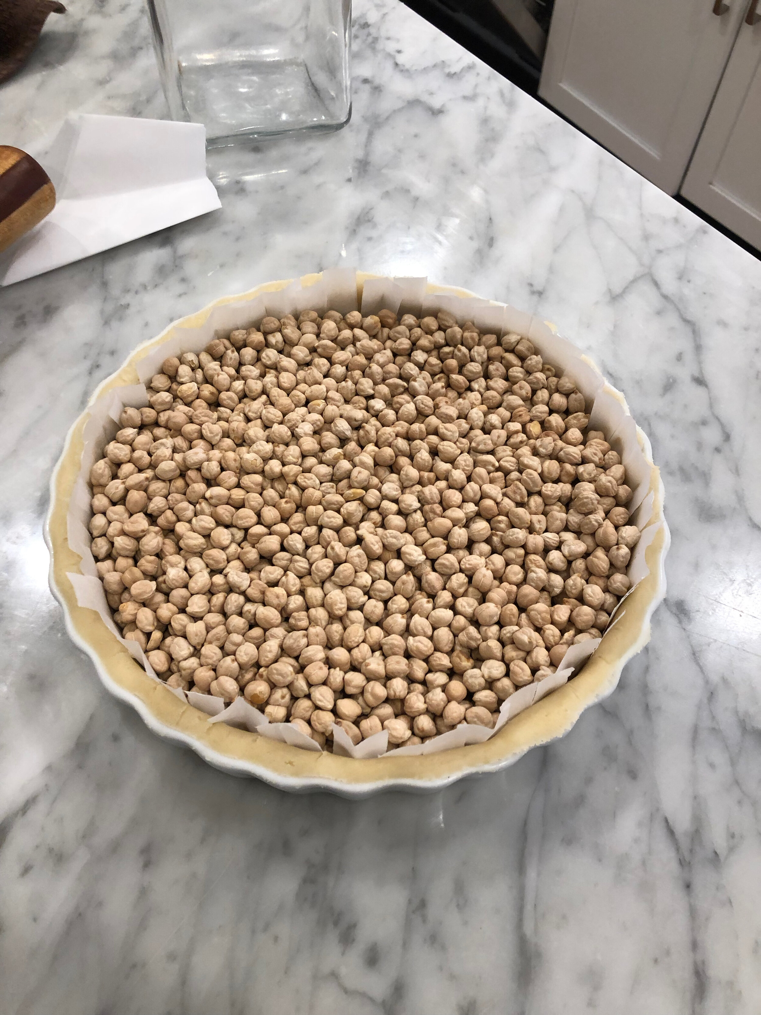 A tart in the making