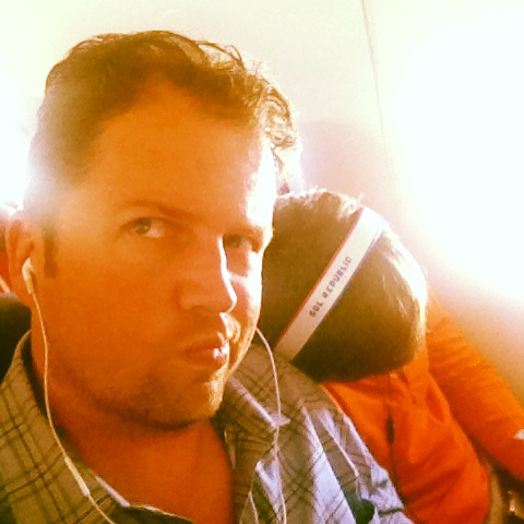 "On the flight out I was a ""pillow"" for over half the flight for this complete stranger......"