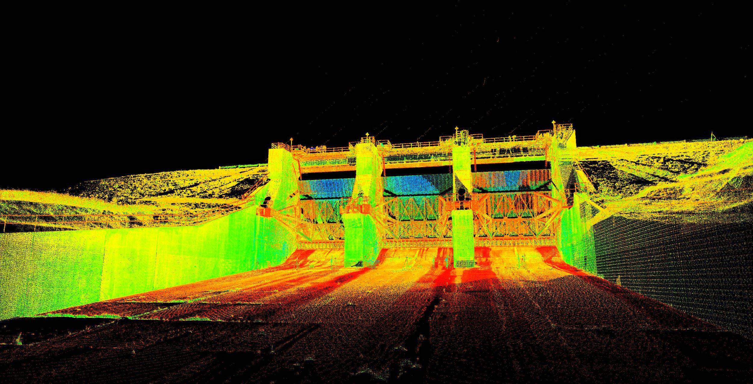 3D scan Industrial example