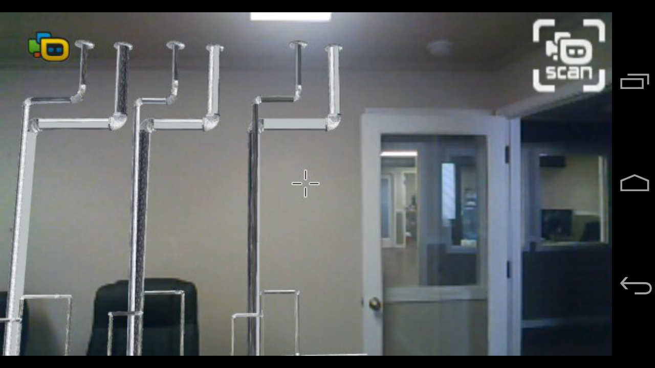 3D scan - Augmented Reality example