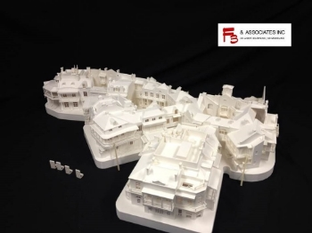 3d Printed Model of New Orleans Square
