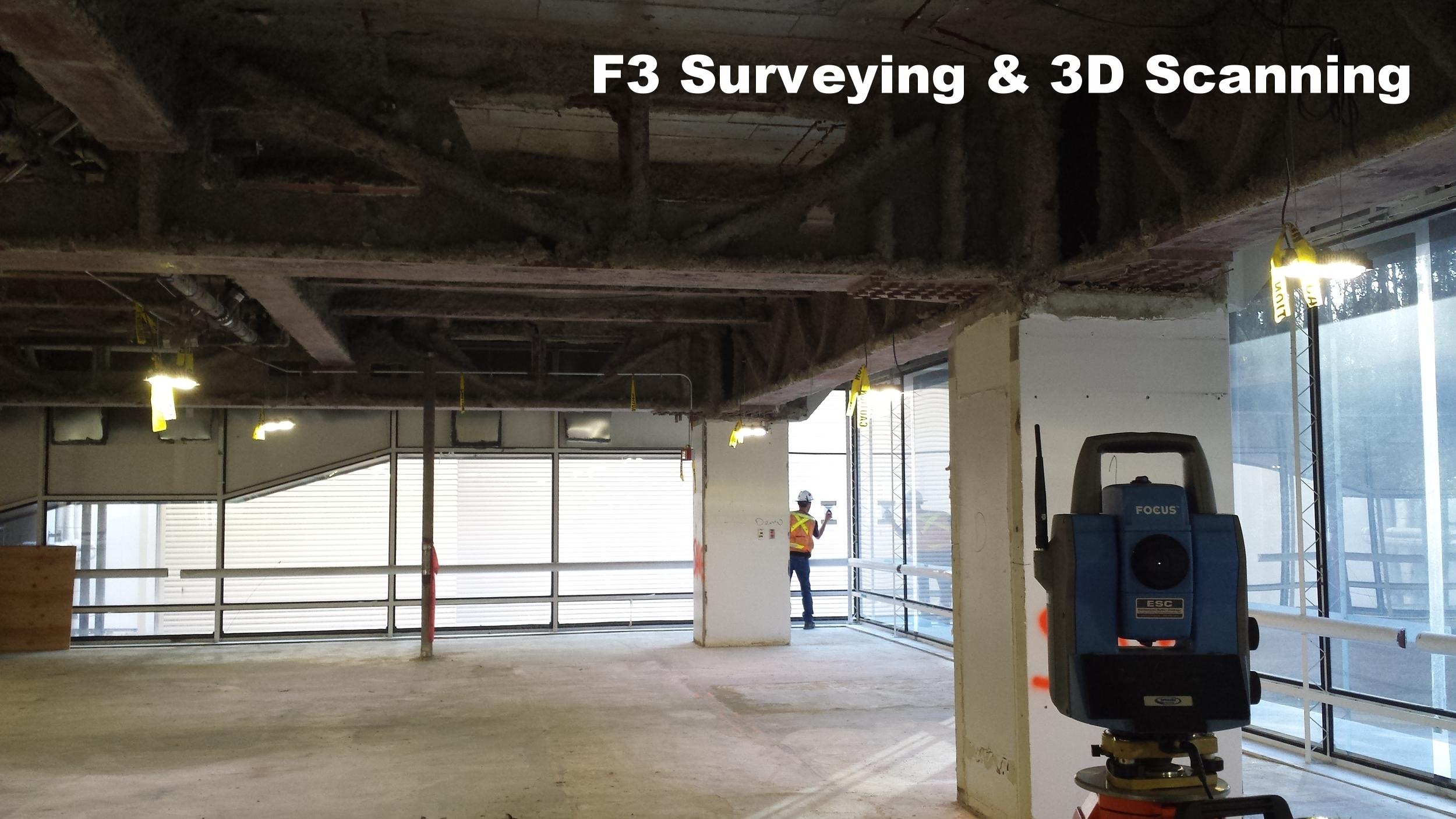 F3 3D Laser Scanning & Survey