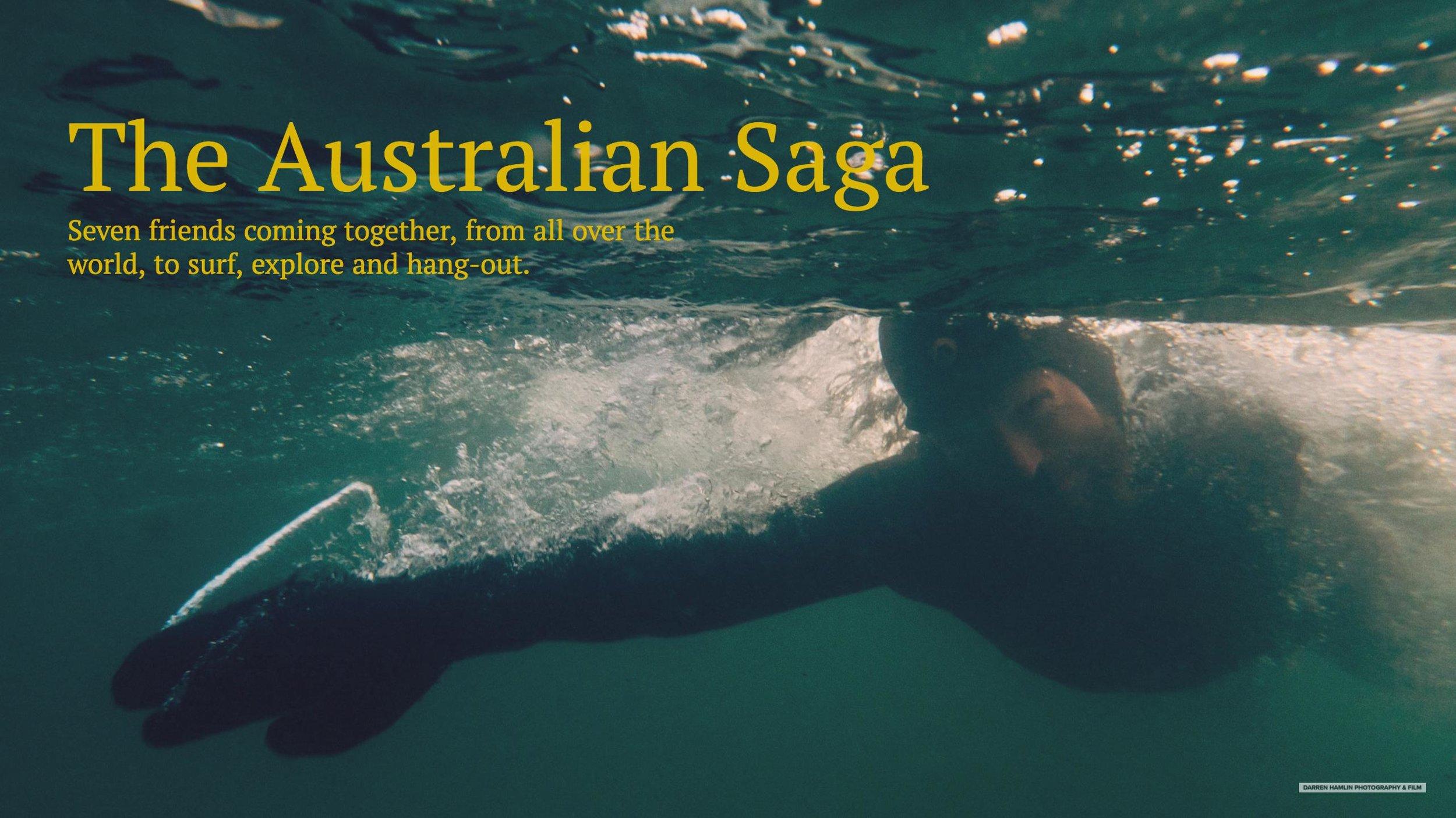 The Australian Saga Header Image