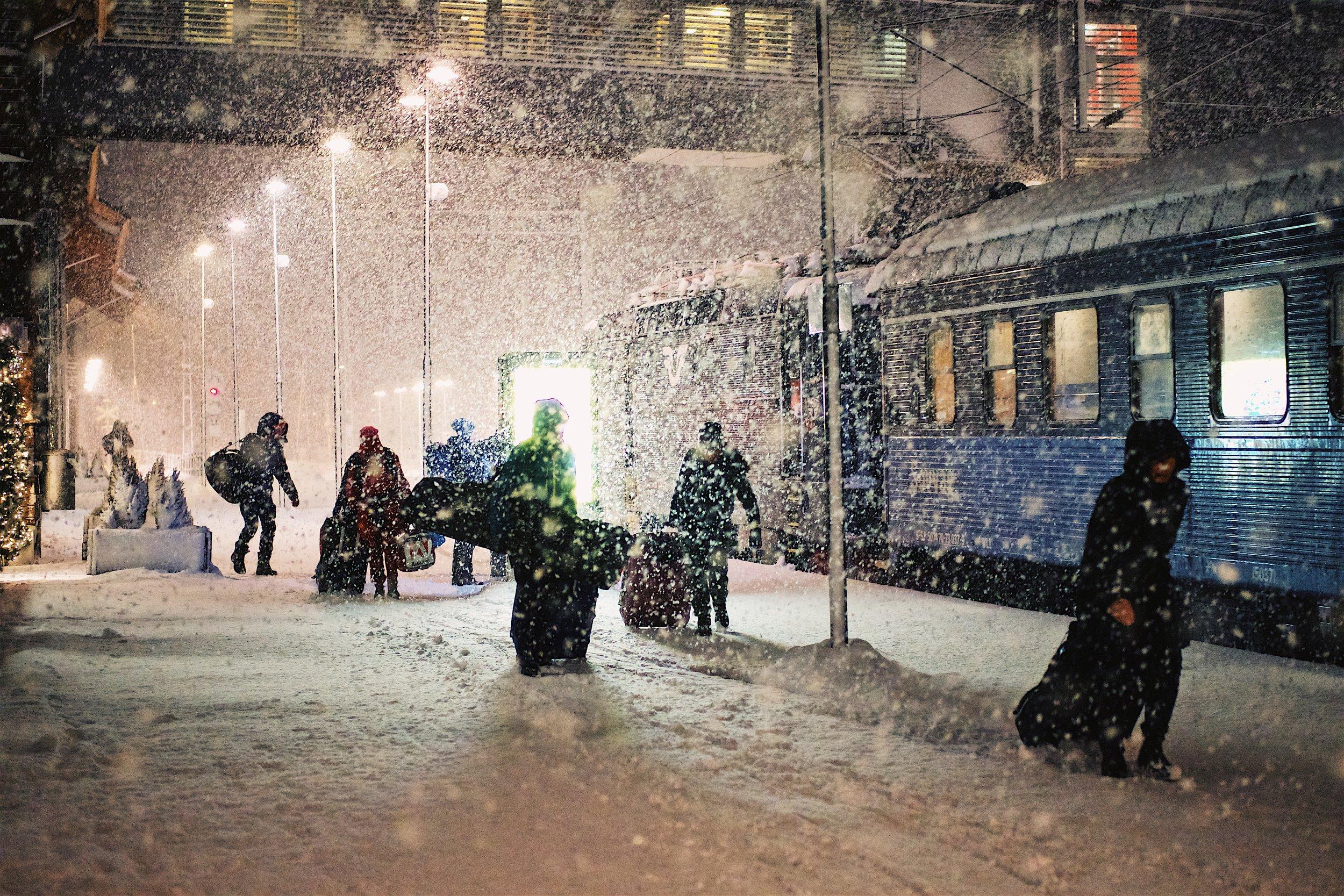Åre Train Station - Fuji Xpro1 35MM