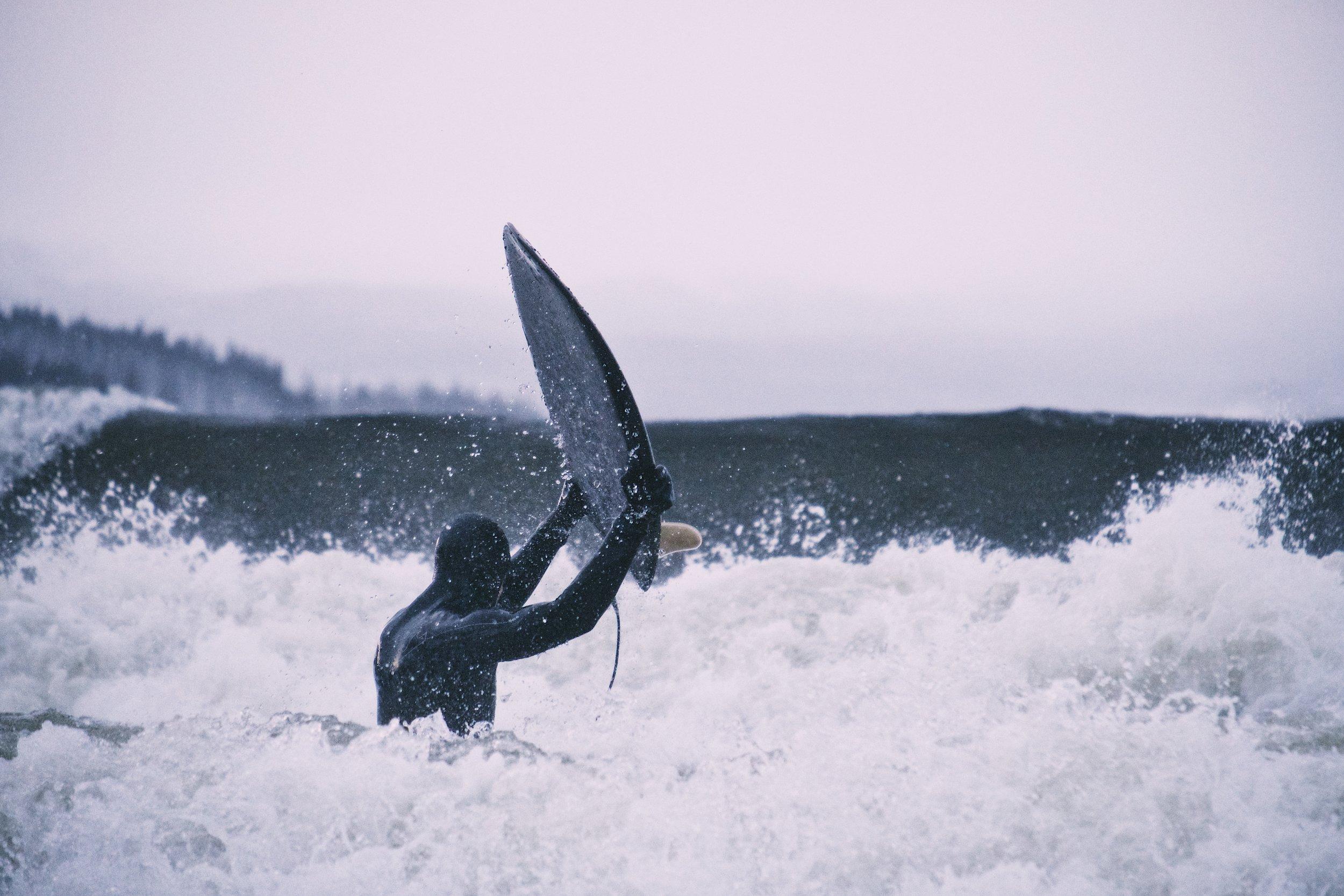 Yep, you can surf too - Pete Brockman