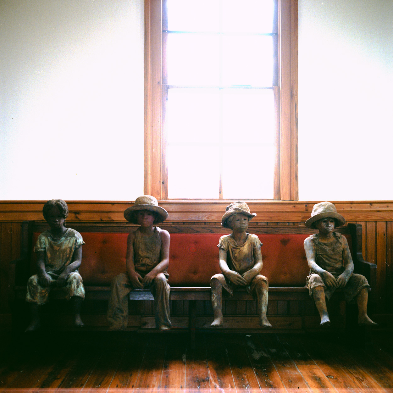 Sculptor Woodrow Nash created these sculptures of children at the time of their emancipation from slavery. These children provided some of the best first hand accounts of what slavery was like.