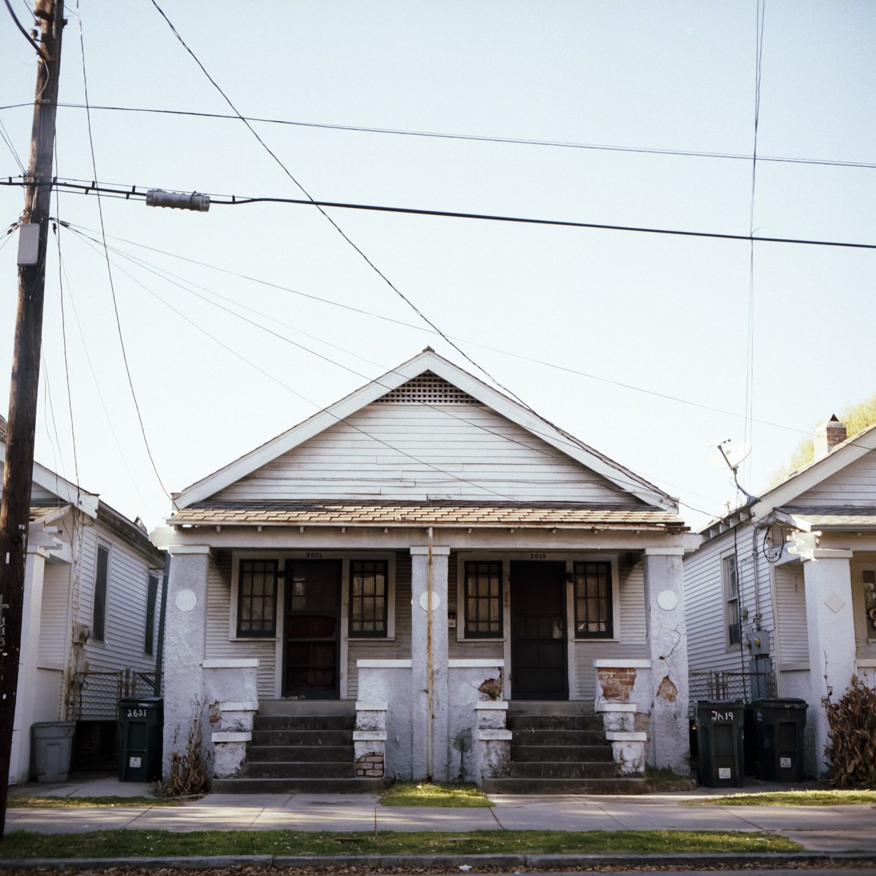 A typical house in NOLA