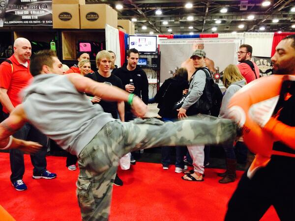 Prototypes in action at Arnold Classic