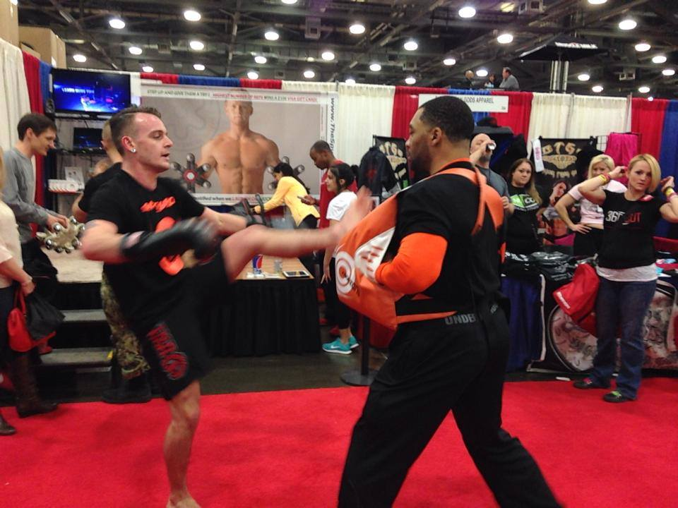 stryKO demo at the Arnold Classic