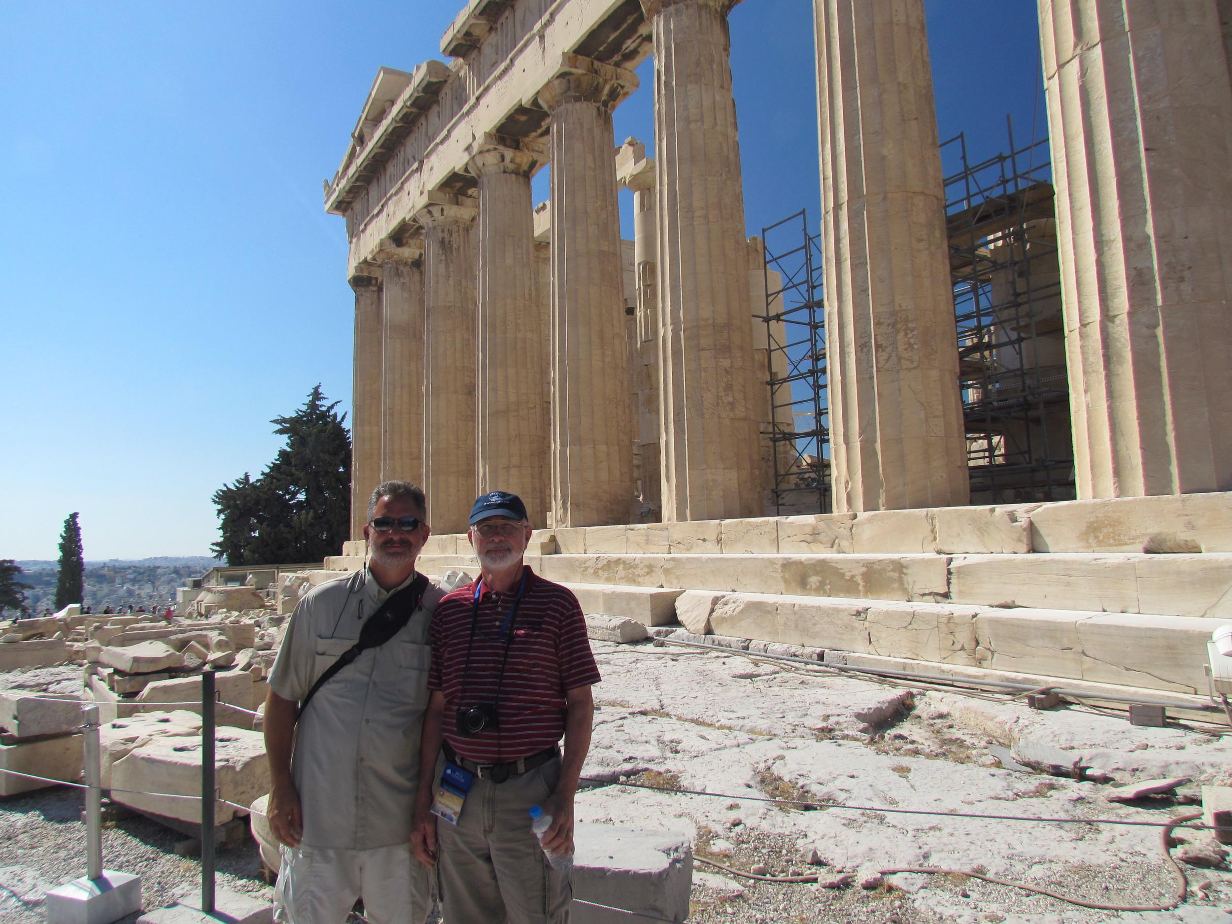 Parthenon on Athens Akropolis