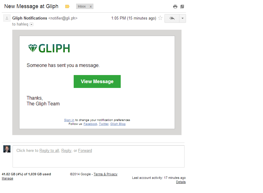 Gliph Gmail without ads - after.png