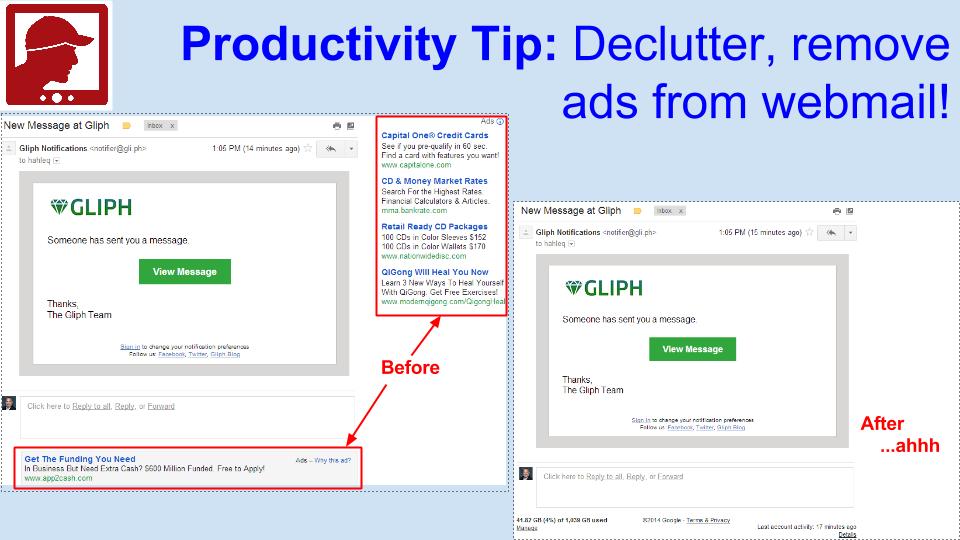 Declutter webmail tip.png