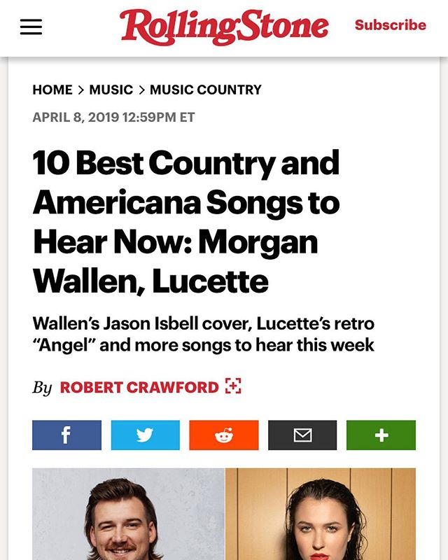 """THANK YOU @rollingstone ❤️❤️!!!! They just announced """"Angel"""" as one of the top songs to hear this week! 👼👼👼👼#rollingstone #rollingstonemagazine #yeg #yegmusic"""
