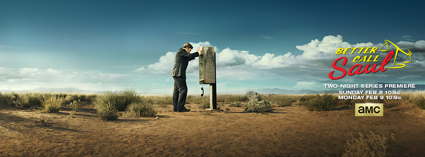 Better Call Saul premieres February 8 & 9 on AMC