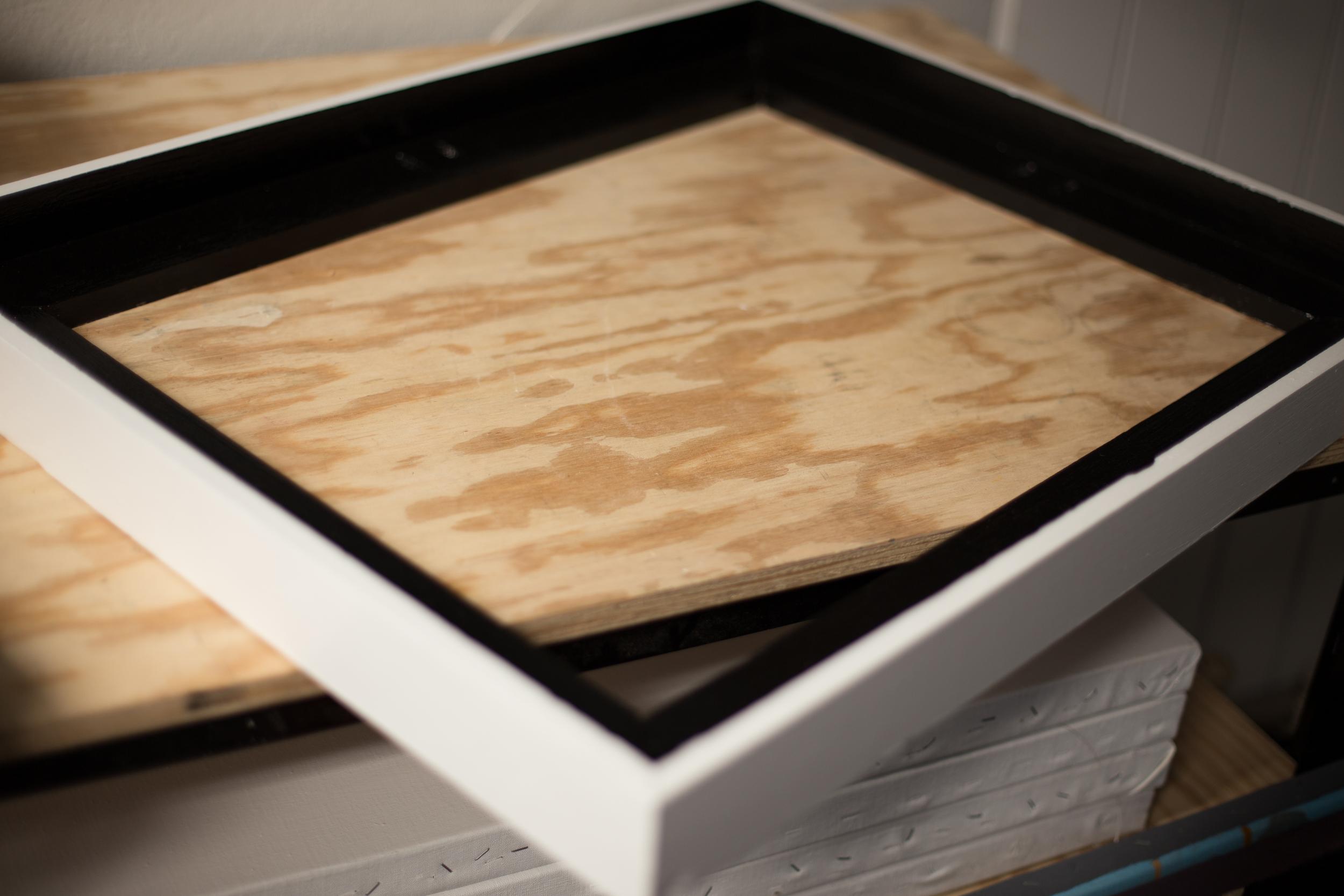 Custom made floater frame