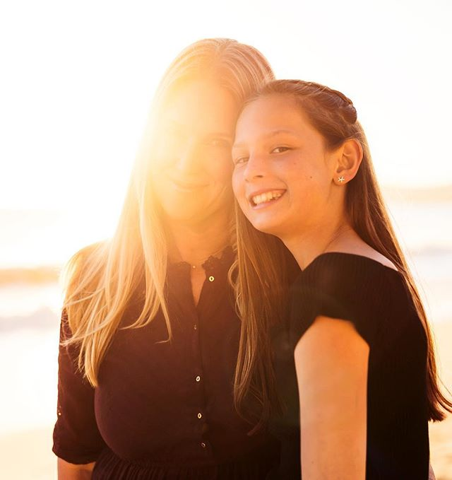 I happened upon this photo today and it warmed my heart... there's always something special about that mom & daughter bond. Portrait of Maya and Julie. #portrait #santabarbara