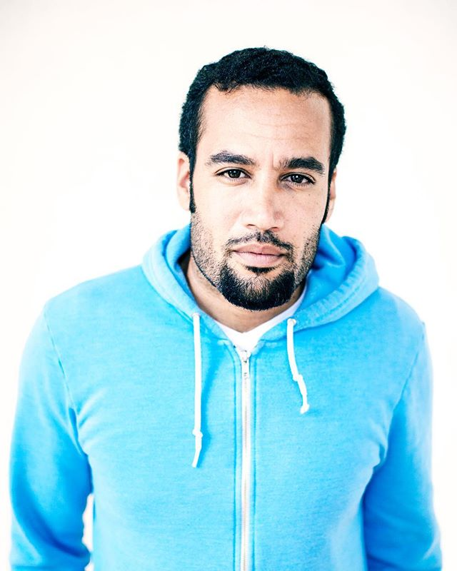 """""""Optimism is the only remedy against the madness surrounding us."""" Ben Harper. Portrait of @benharper from a few years back. #portrait #optimism #hope #orwigportrait"""