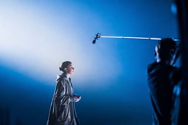 On set with @milliebobbybrown while filming for @cisco. Millie is such a luminous and wonderful soul! Honored and inspired to have met her!!! . . #milliebobbybrown #bts #cisco #sonya9 #sony85mm14 @sonyalpha