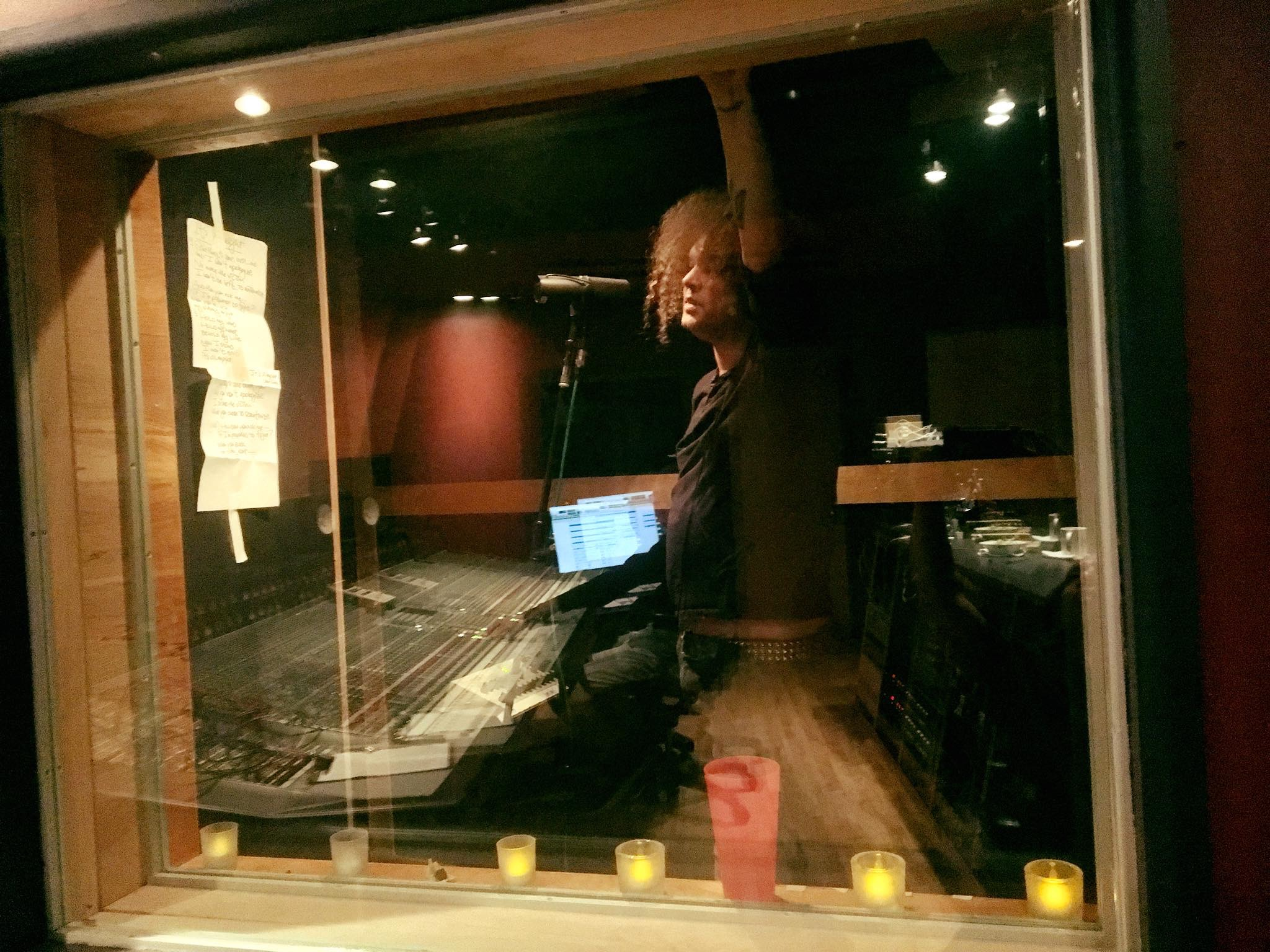 Peter vocal booth 2018