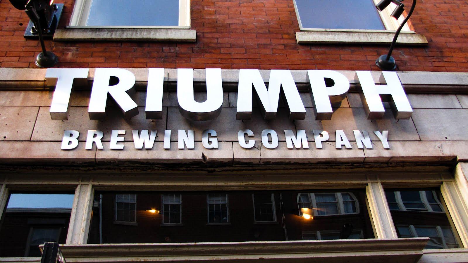 Triumph Brewing Company in Philadelphia