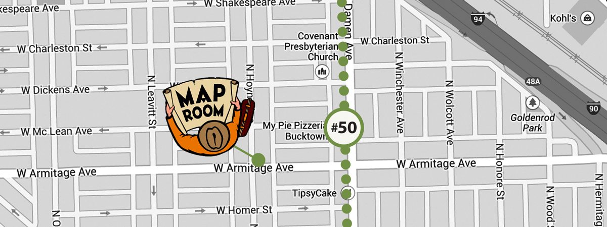 Finally, end the day by racking your brain over making a final selection from the hundreds of options at the Map Room.