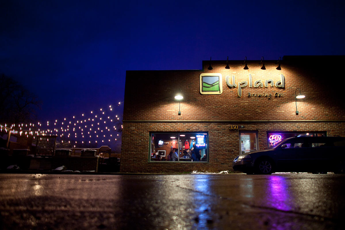 Upland's brewpub has been a Bloomington mainstay for the past decade and a half.