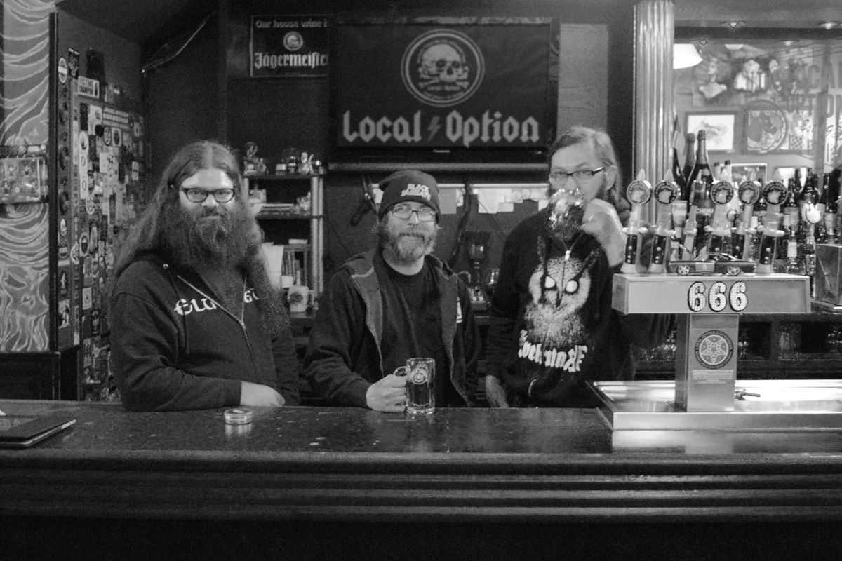 Alexi, Tony & Noah - the 'Bierwerkers' of Local Option