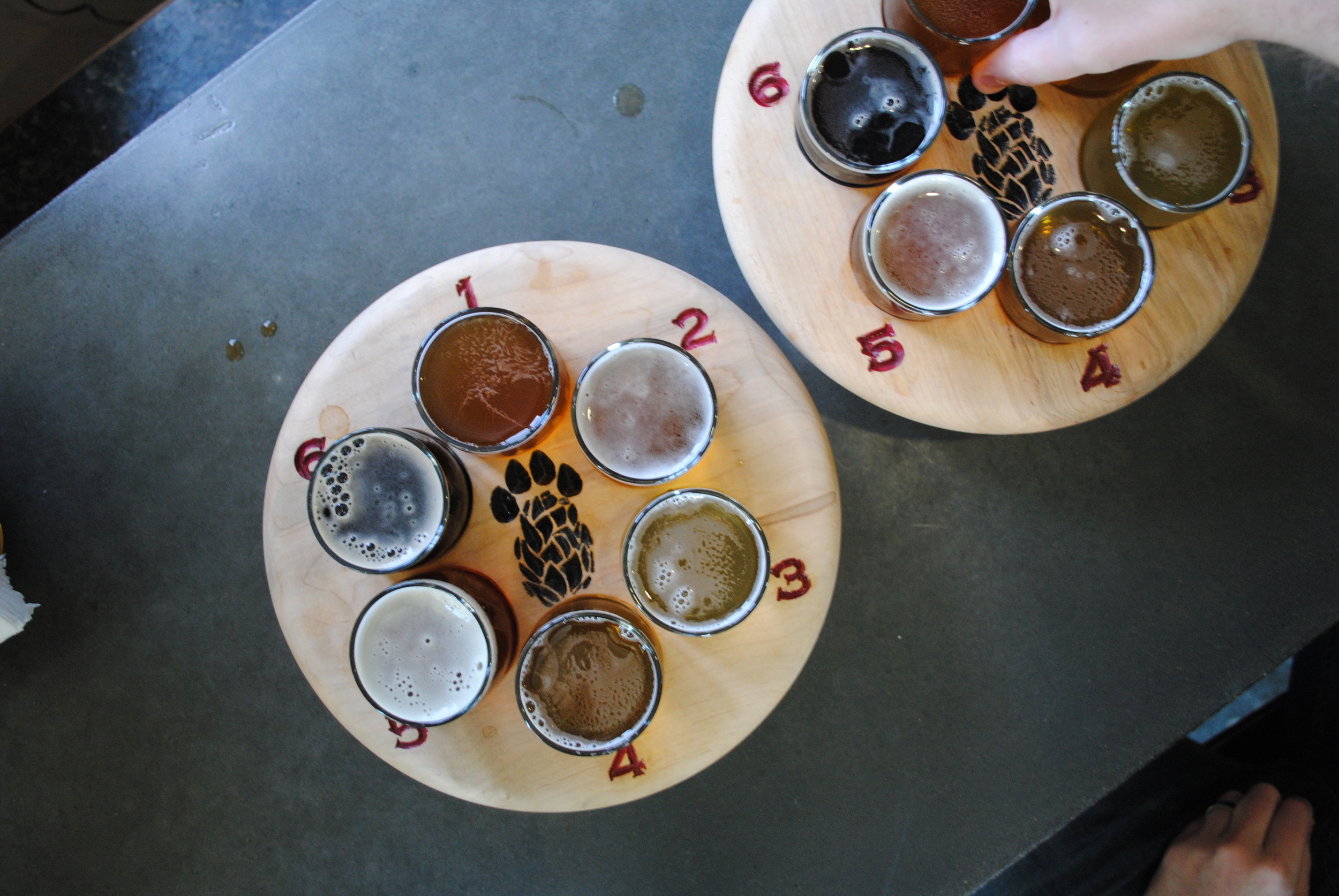 Narrowing down the Paw Paw beer list to six wasn't easy...