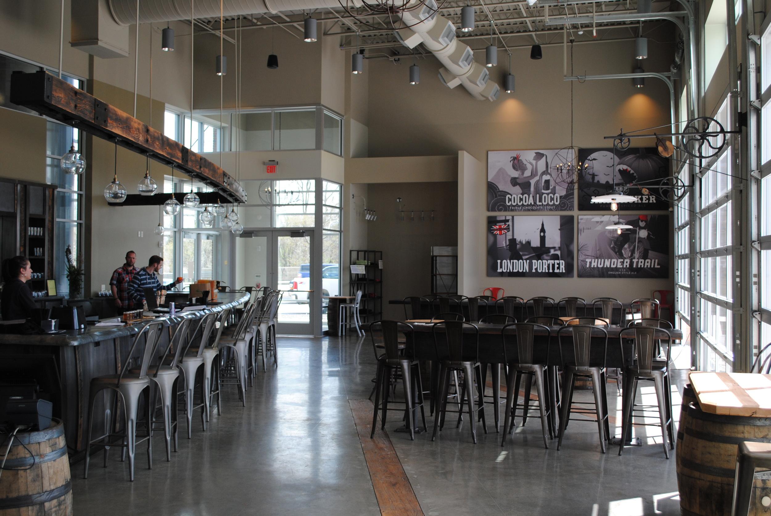 The beautiful, brand new, Arcadia Ales in Kalamazoo