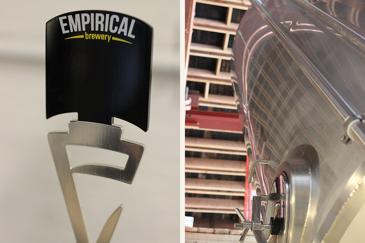Empirical's tap and fermentor