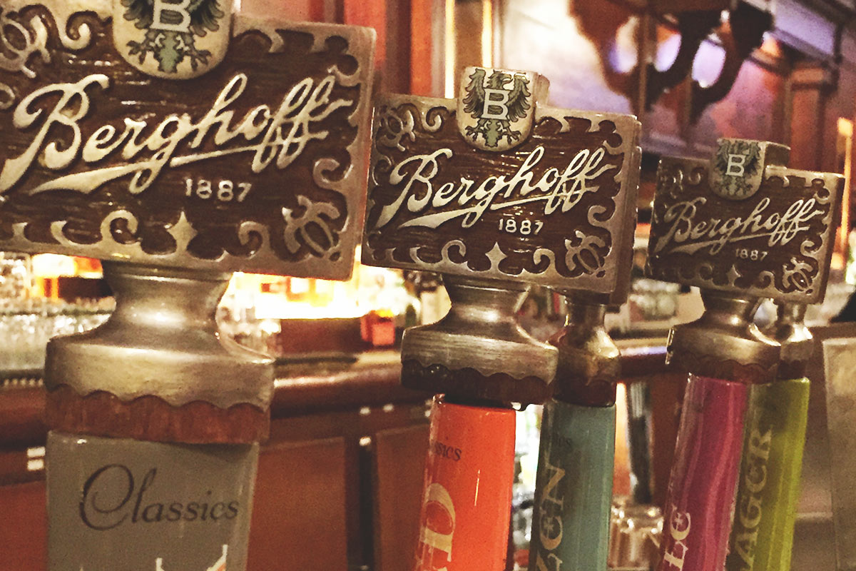 One of Chicago's oldest beer brands is alive and well at The Berghoff.
