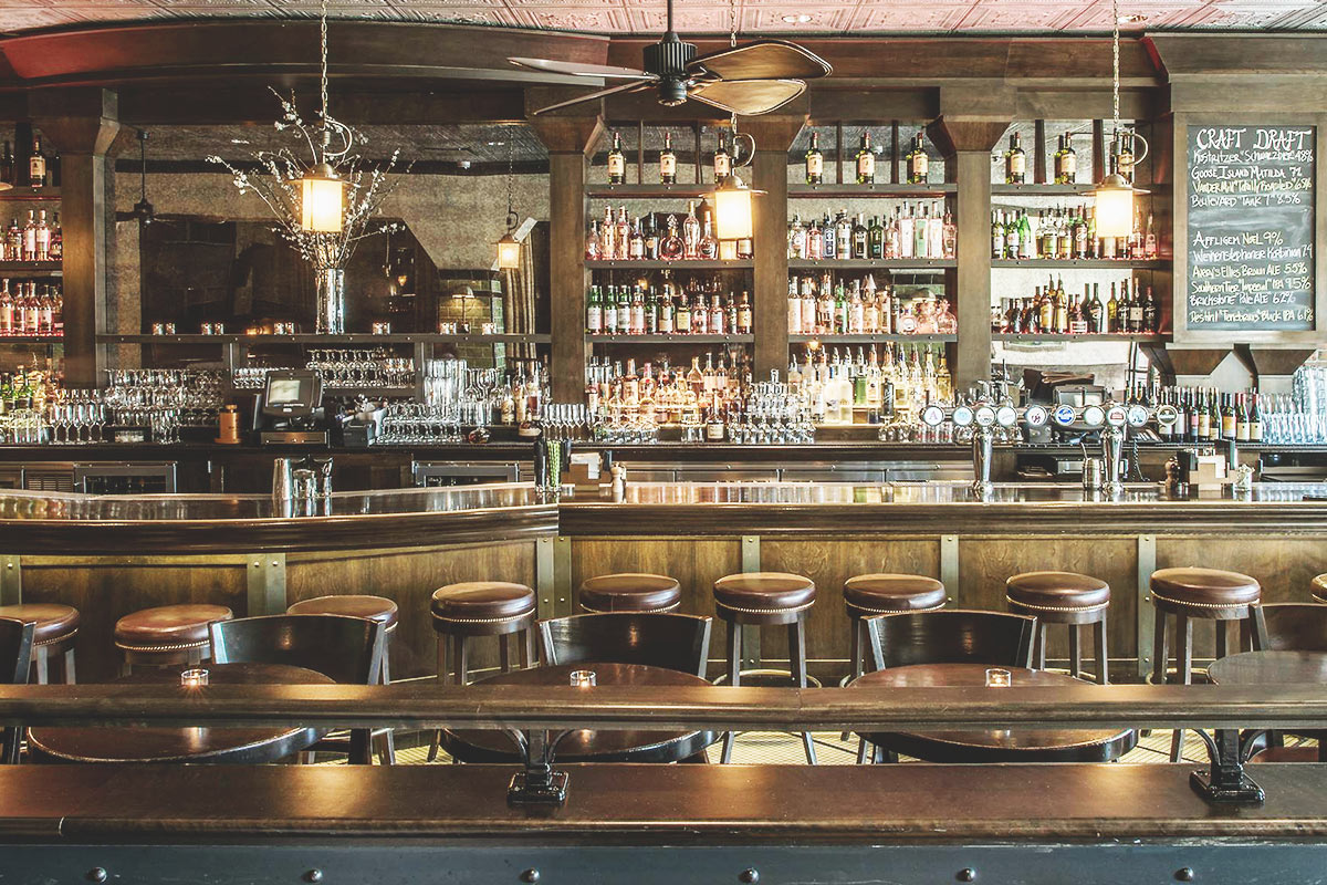 The Gage:the Loop's best-looking bar to pull up a stool.   (Credit: The GageFacebook)