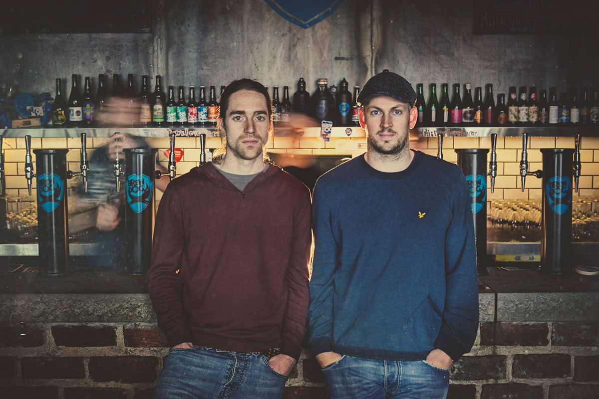 BrewDog co-founders,James Watt & Martin Dickie, owners of the UK's fastest-growing brewery.