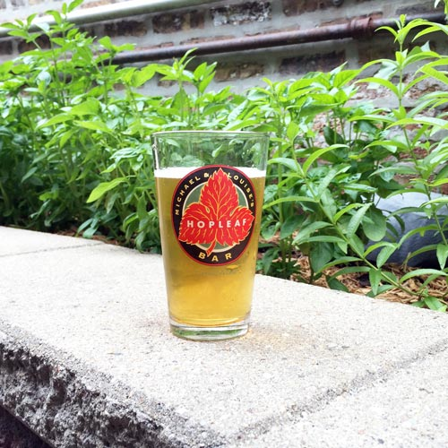 Drafts a'plenty at Hopleaf.– Photo:The Hop Review
