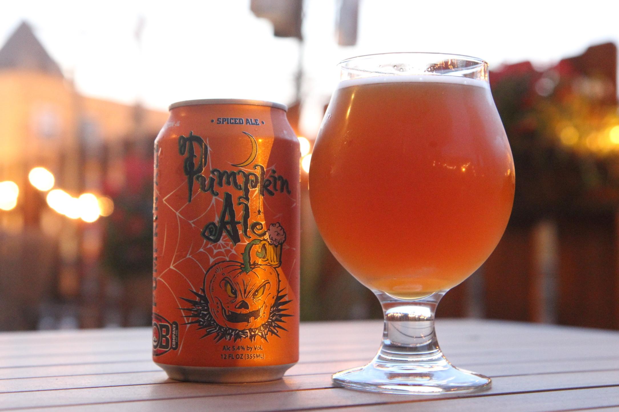 Our October 2014, BOTM  Wild Onion's Pumpkin Ale