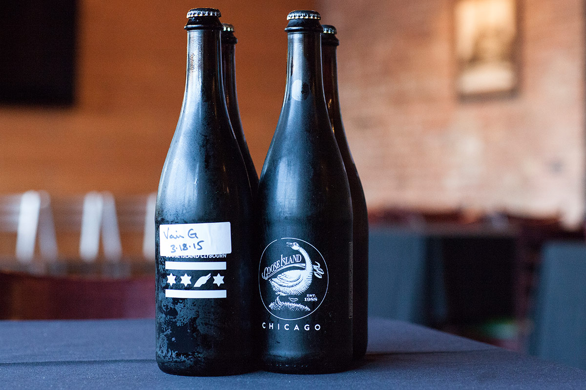 Over at Goose Island's Clybourn brewpub, sours are still respected and sought. [  Photo: Melinda Myers]
