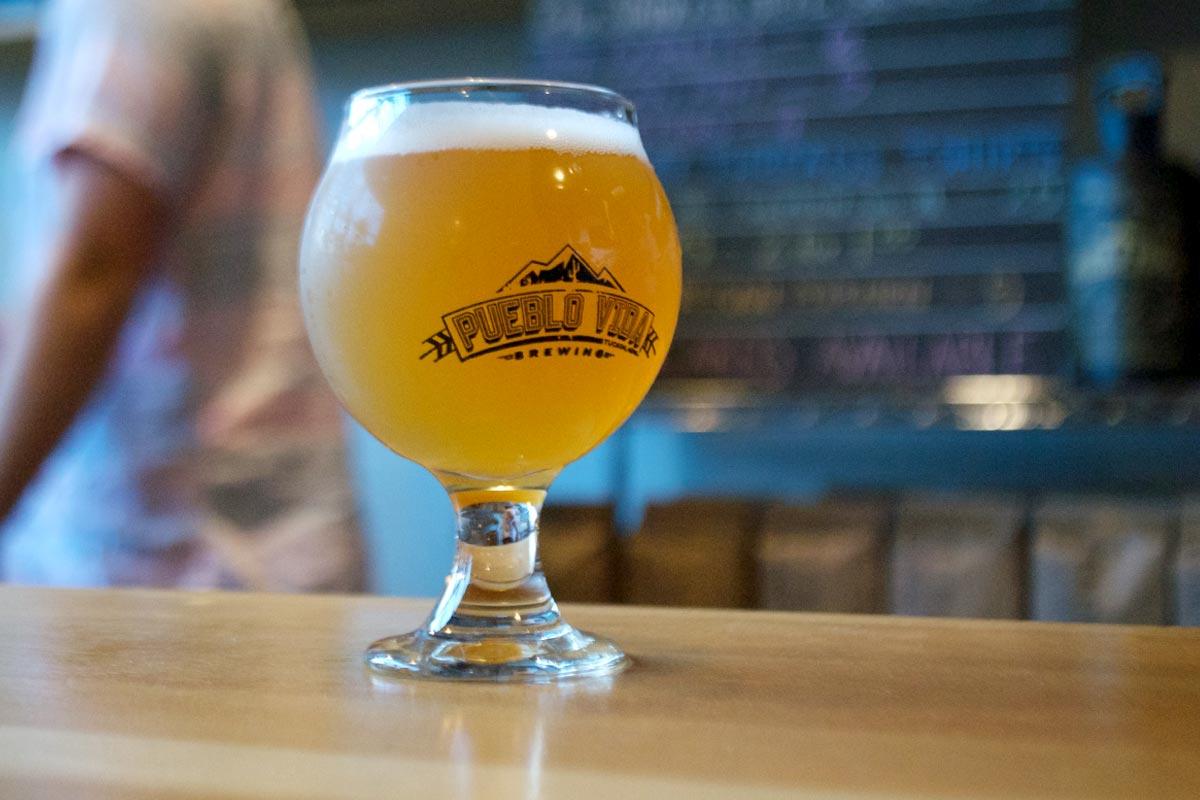 The balanced pale ale is king at Pueblo Vida.