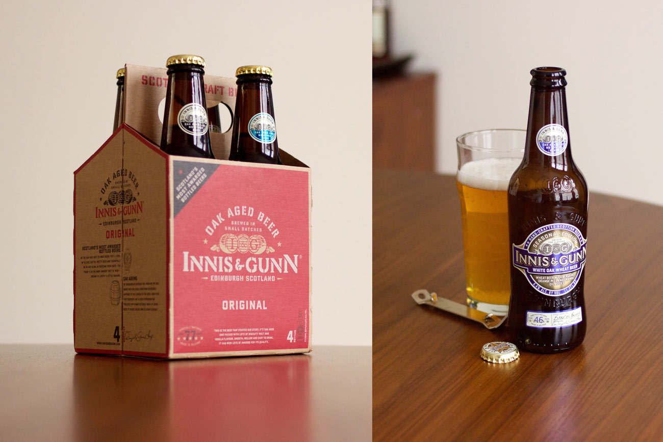 Innis & Gunn Four Pack and White Oak Wheat