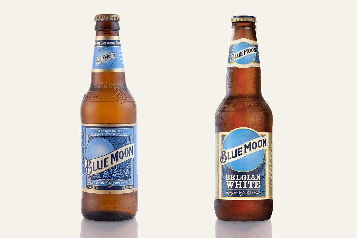 Old bottle design vs. new