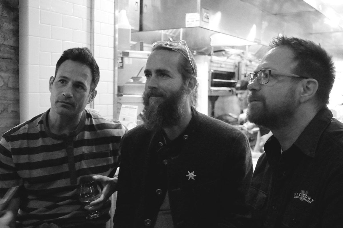 Sam Calagione (Dogfish Head), Greg Koch (Stone) & Bill Covaleski (Victory)