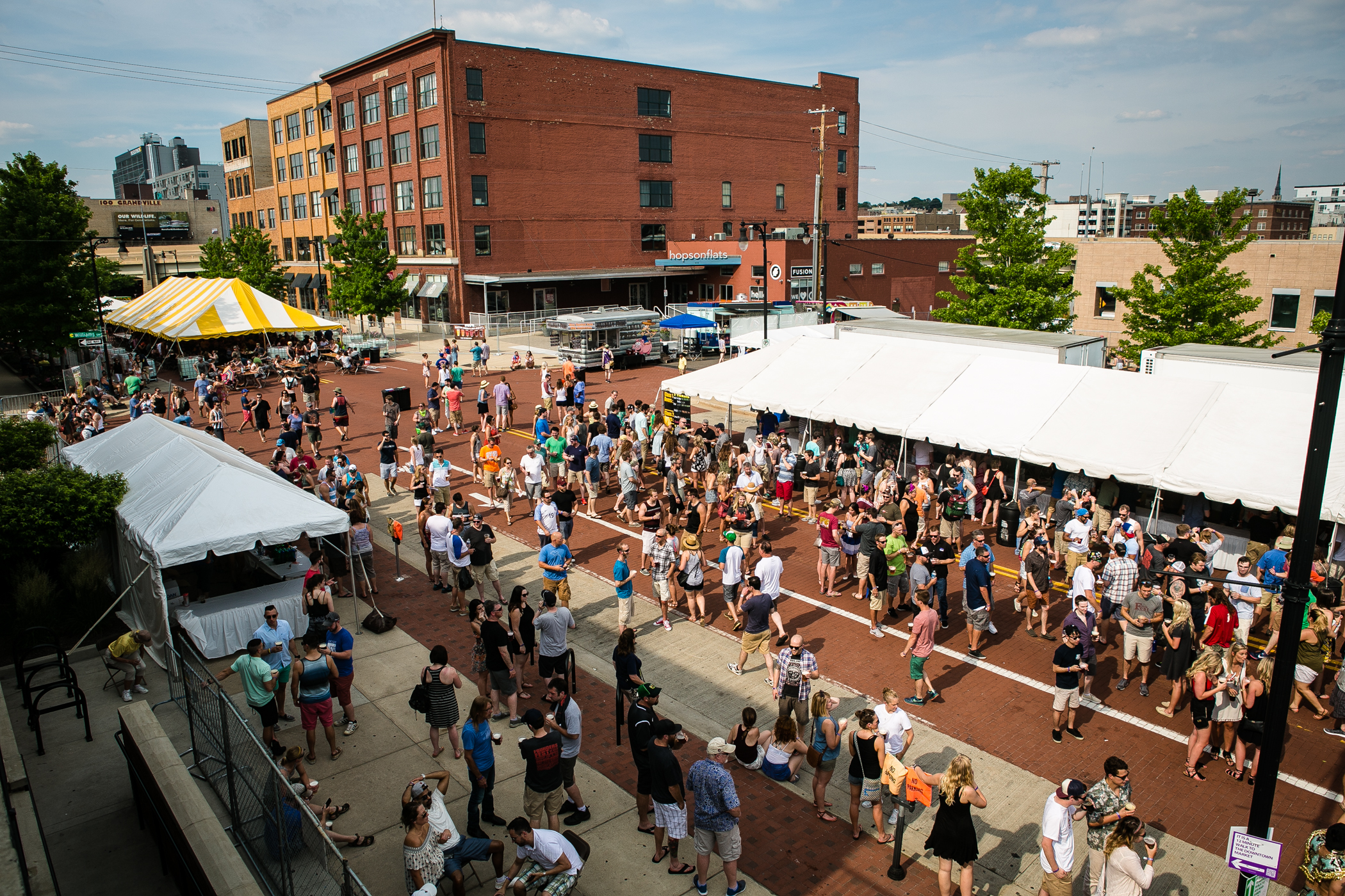 The 9th annual Founders Fest kicks off, June 2016.