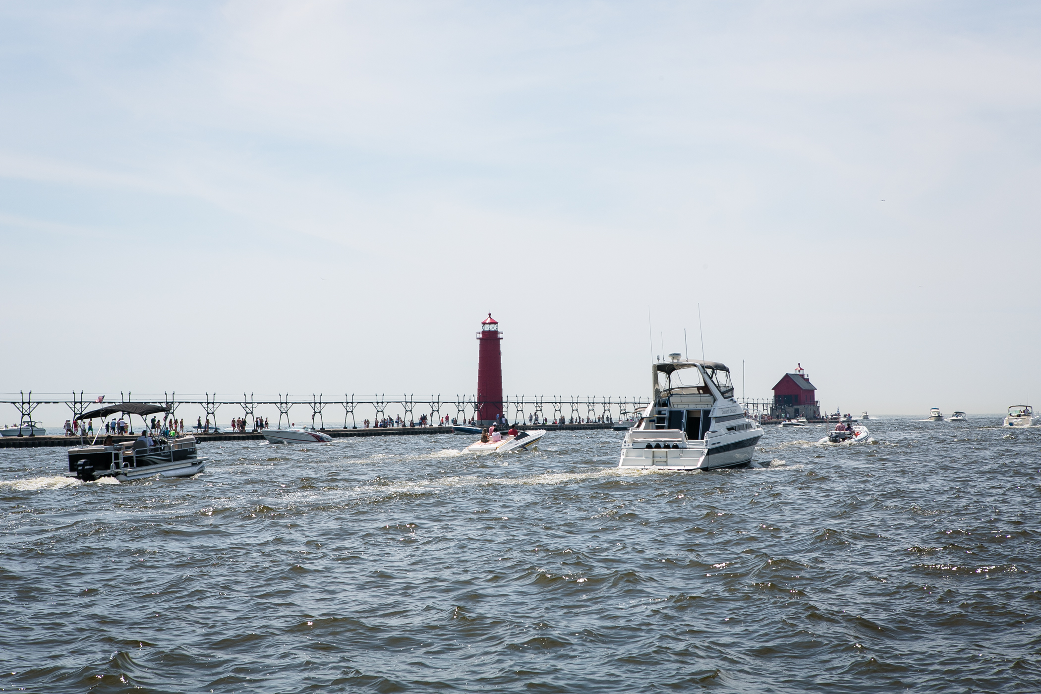 A 45-minute drive from Founders will land you at the lakeside town of Grand Haven, on Lake Michigan.