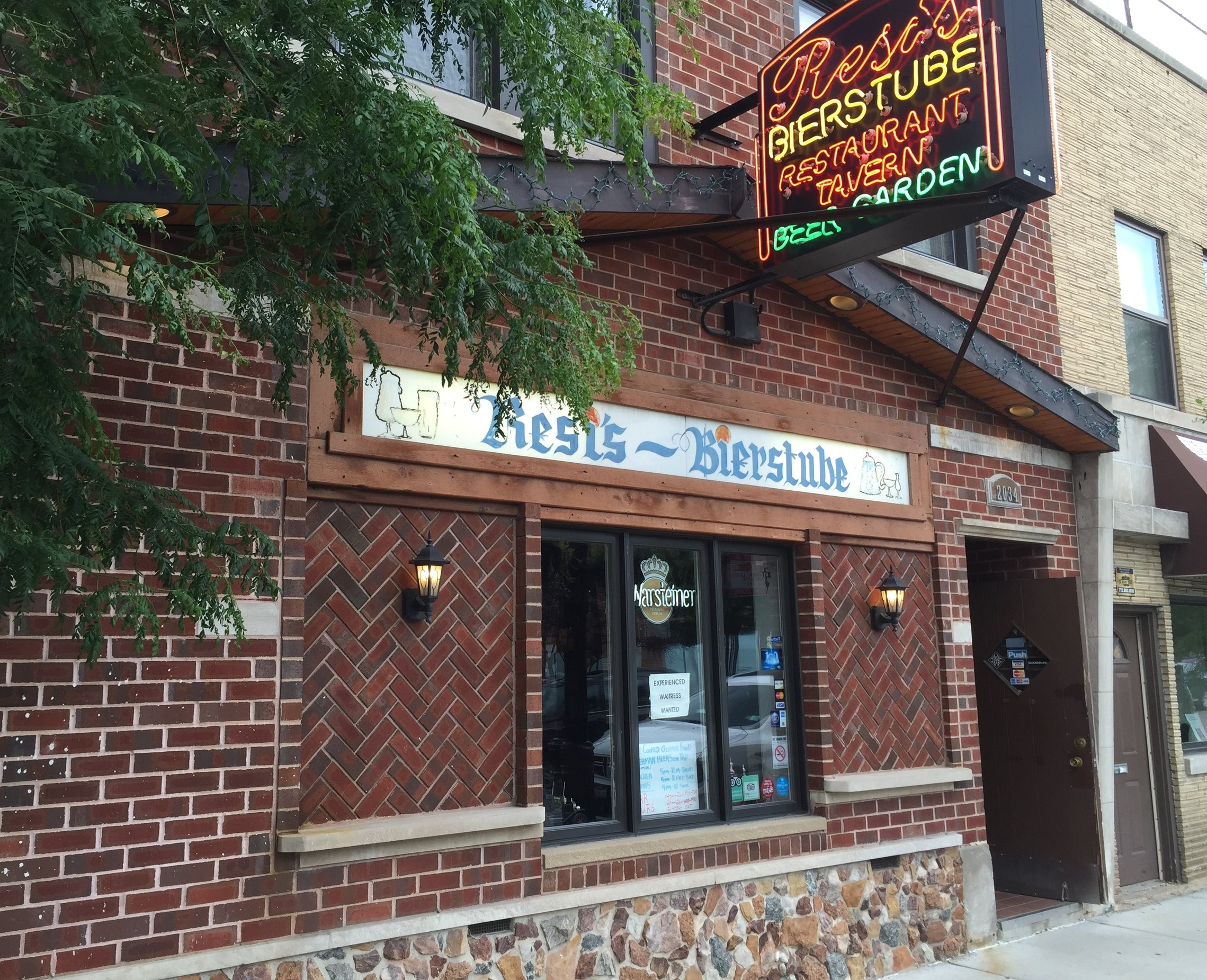Resi's Bierstube2034 W. Irving Park Rd. – Northcenter Tried and true beer list, with some particular standouts. Plus a local's secret biergarten.