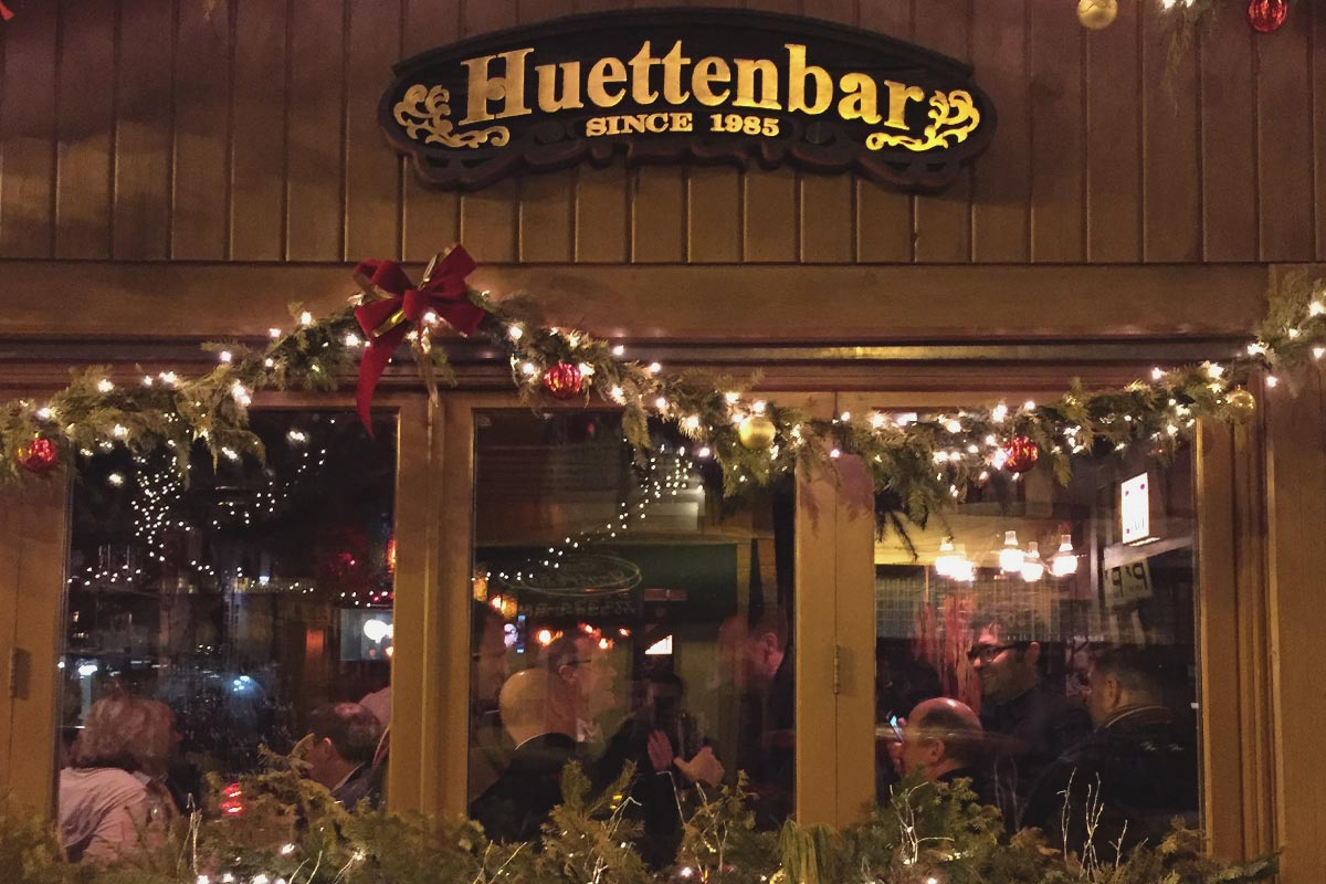 Huttenbar4721 N. Lincoln Ave. –  Lincoln SquareAn often overlooked gem in the Square, this cozy pub gives off all the expected vibes of a neighborhood bar, with plenty of Munich faves.