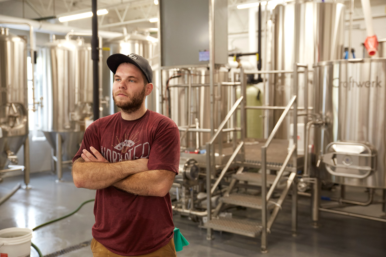 North Pier's Head Brewer, Steve Distasio
