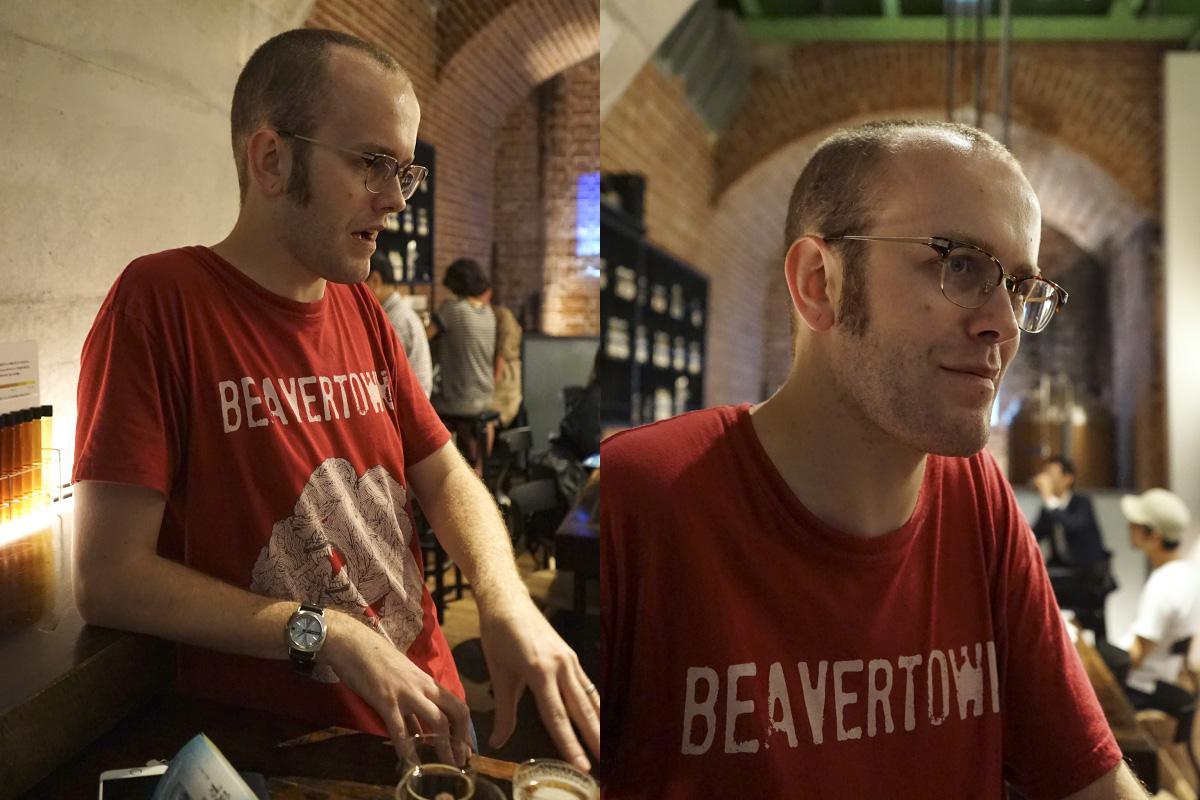 Joe Robson, of Japanese beer website, BeerTengoku.