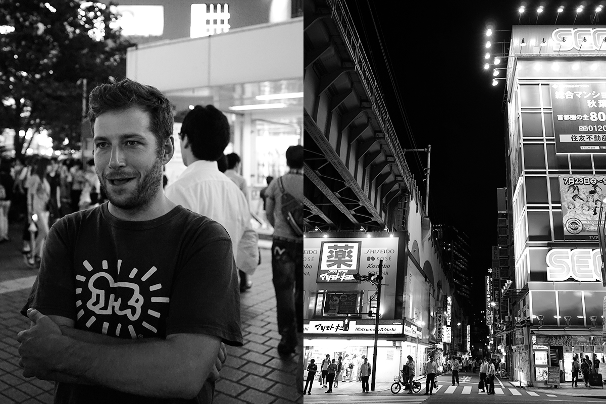 Mikkeller Tokyo's Hamilton Shields talks with THR, on the busy streets of Tokyo.